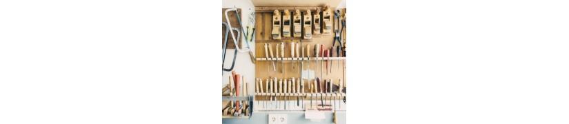 Sgorbie e utensili per tornio